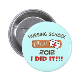 Graduación 2012 de la escuela de enfermería pins