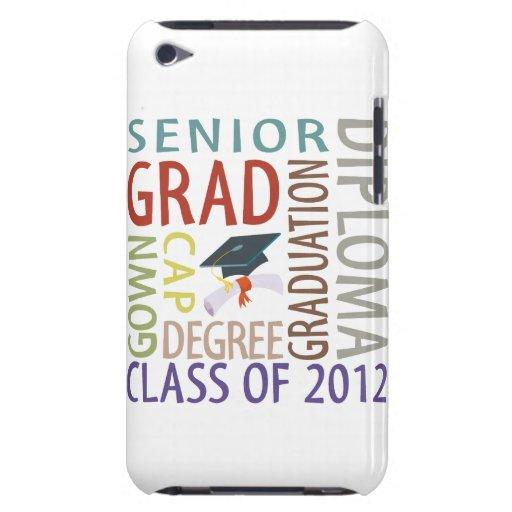Graduación 2012 iPod Case-Mate cobertura