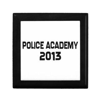 Graduación 2013 de la academia de policía joyero cuadrado pequeño