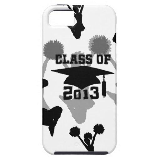 Graduación 2013 de la animadora iPhone 5 Case-Mate protectores