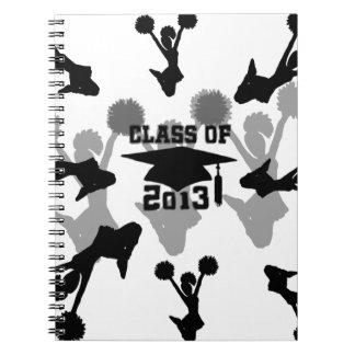 Graduación 2013 de la animadora cuadernos