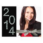 Graduación 2014 de la foto de la cinta del brillo  anuncio personalizado
