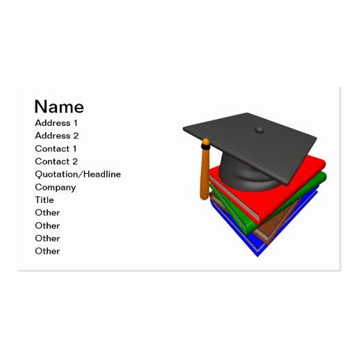 Graduación 2 tarjeta de visita