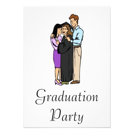 Graduación con la familia anuncio