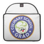 Graduación culinaria de la escuela fundas para macbook pro