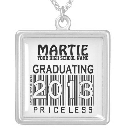 Graduación de 2013: (Personalice) collar