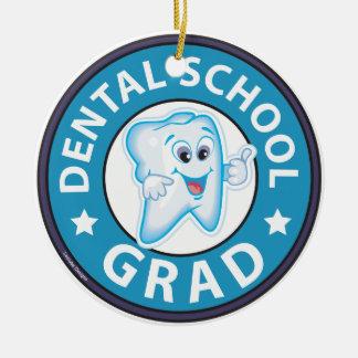 Graduación de la escuela dental adorno de navidad