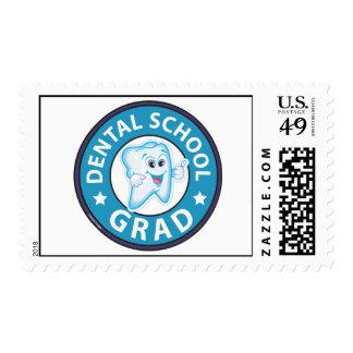 Graduación de la escuela dental sellos