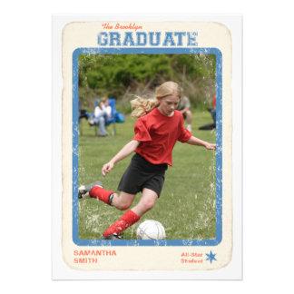 Graduación de la estrella de deportes
