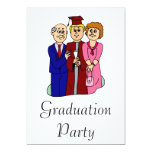 Graduación de la familia anuncio