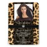 Graduación de la foto de la cinta del leopardo