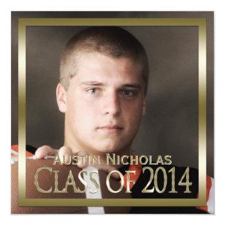 Graduación de la foto de la página llena del comunicado