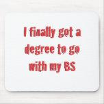 Graduación de la universidad alfombrilla de raton
