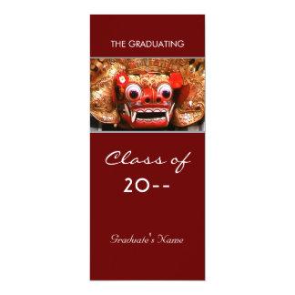 """Graduación de las obras clásicas invitación 4"""" x 9.25"""""""