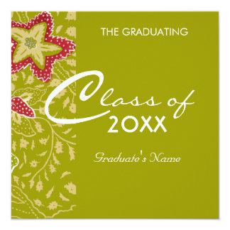 """Graduación de las obras clásicas invitación 5.25"""" x 5.25"""""""