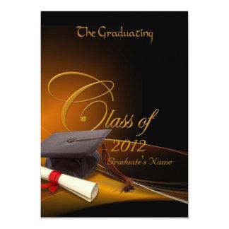 """Graduación de las obras clásicas invitación 5"""" x 7"""""""