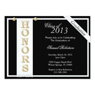 Graduación de moda Annoucement/invitación de los