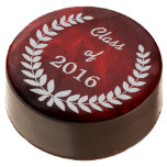 Graduación de plata roja de la guirnalda del