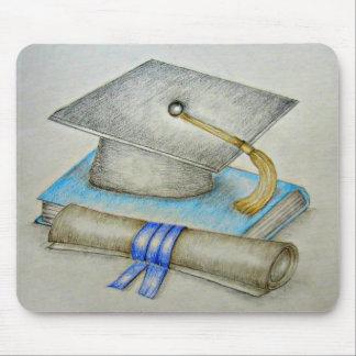 graduación del casquillo alfombrilla de raton