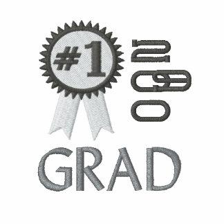 Graduación del graduado del número 1 bordada polo