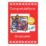 Graduación dental de la industria felicitaciones