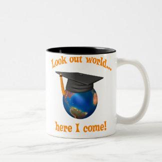 Graduación divertida taza
