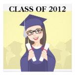 Graduación doble invitación