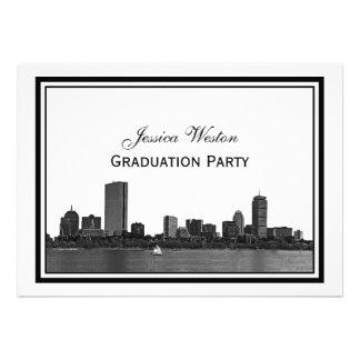 Graduación enmarcada grabada al agua fuerte horizo anuncios