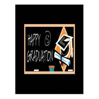 Graduación feliz 2 tarjetas postales
