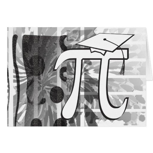 Graduación feliz - graduado del pi - graduación di tarjetas
