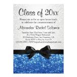Graduación/fiesta azules del arco de la Chispa-mir Invitaciones Personalizada