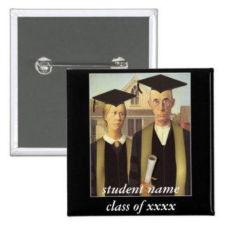 Graduación gótica americana pin