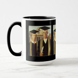 Graduación gótica americana taza