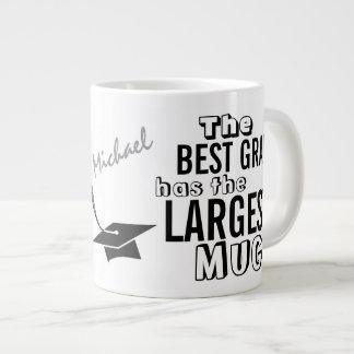 Graduación grande personalizada de la taza del taza grande