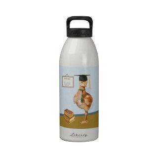 Graduación grúa de Sandhill del bebé Botella De Agua Reutilizable