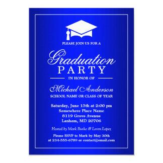 """Graduación imponente del graduado de la pendiente invitación 5"""" x 7"""""""