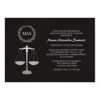 """Graduación Inv del colegio de abogados de la Invitación 5"""" X 7"""""""