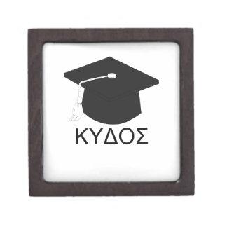 Graduación kudos-B.A. Caja De Recuerdo De Calidad