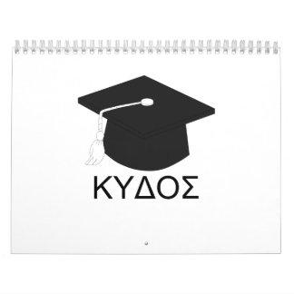 Graduación kudos-B.A. Calendario