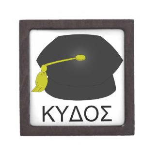 Graduación kudos-Ph.D. Caja De Recuerdo De Calidad