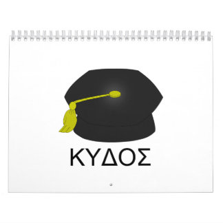 Graduación kudos-Ph.D. Calendarios De Pared