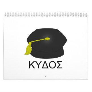 Graduación kudos-Ph.D. Calendarios