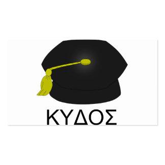 Graduación kudos-Ph.D. Tarjetas De Visita