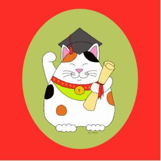 Graduación Maneki Neko Fotoescultura Vertical