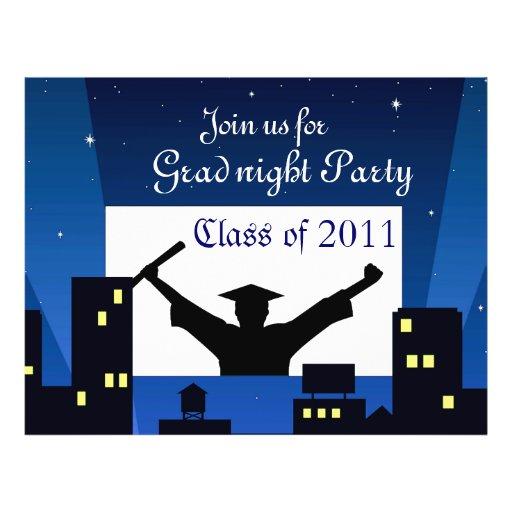 Graduación Party_ Tarjeta Publicitaria