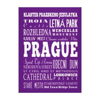 Graduación Praga única, idea del regalo de la Lienzo Envuelto Para Galerías