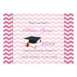 Graduación rosada elegante, preciosa del galón comunicado personal