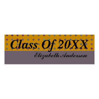Graduación Tarjeta Personal