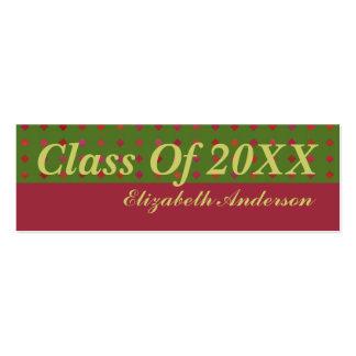 Graduación Tarjetas De Visita