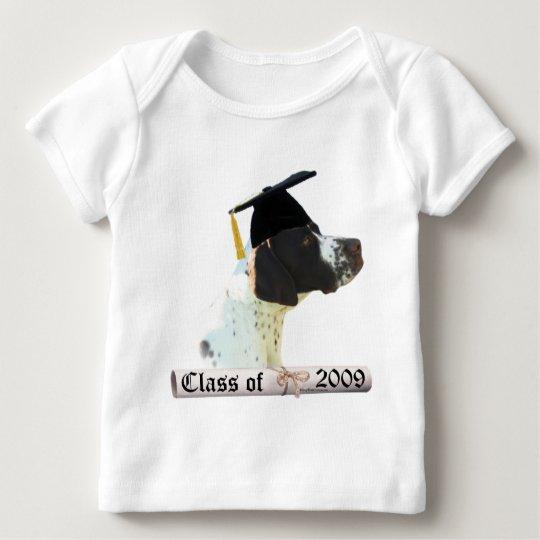 Graduado 09 del indicador del hígado playera de bebé